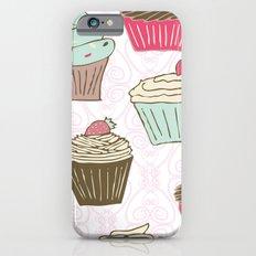 Cupcakes Curly iPhone 6s Slim Case