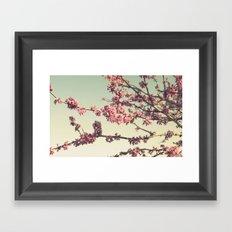the songs of spring Framed Art Print