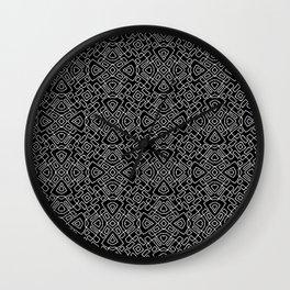 A cuadros Wall Clock