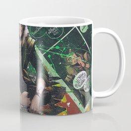 Loki God of Mischief Comic Art Collage Coffee Mug