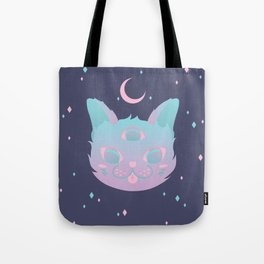 Pastel Cat Tote Bag