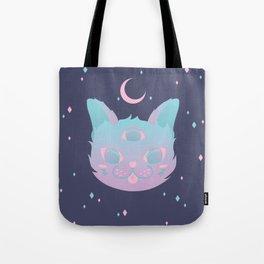 Pastel Cat Tote Bag