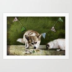 Birthday Rituals Art Print