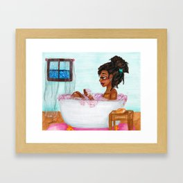 Bubbles Framed Art Print