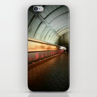 dc iPhone & iPod Skins featuring DC Metro by SHarperDesign