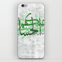 calligraphy iPhone & iPod Skins featuring calligraphy by apostrophe