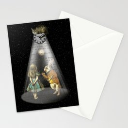 A Portal To Wonderland - Alice In Wonderland Stationery Cards
