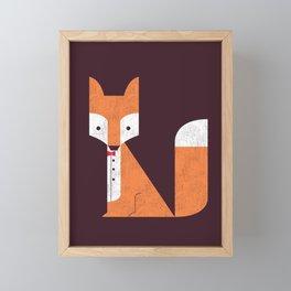 Le Sly Fox Framed Mini Art Print