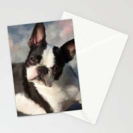 Dog 150 Boston Terrier Stationery Cards
