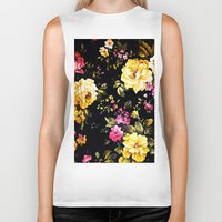 roses Biker Tanks featuring  Roses  by Saundra Myles