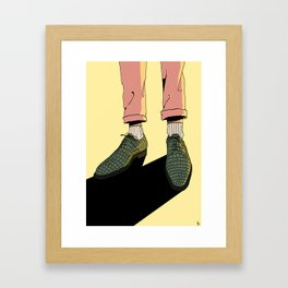 Wear those gators Framed Art Print