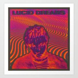 Juice Wrld -  Lucid Dreams Art Print