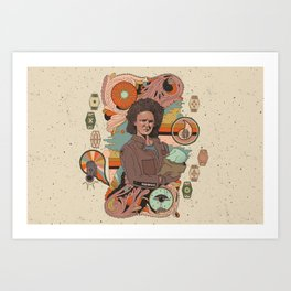 """The Mechanic"" by Cassidy Rae Marietta Art Print"