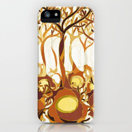 Neuronal Forest iPhone Case