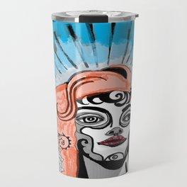 Chicano Woman Travel Mug