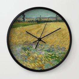 Wheatfield Wall Clock