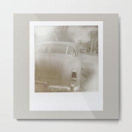 Automobiles In Proximity One. Metal Print