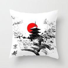 Kyoto - Japan Throw Pillow