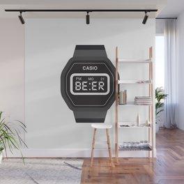 Beer Watch Wall Mural