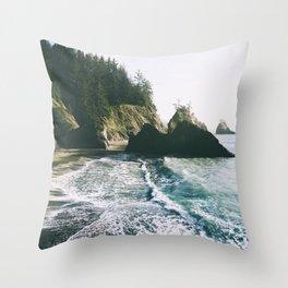 Samuel H. Boardman III Throw Pillow