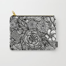 Peony Fascination Carry-All Pouch
