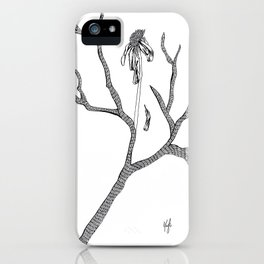 The Flower Promised Me That It Will Not Wither Again iPhone Case