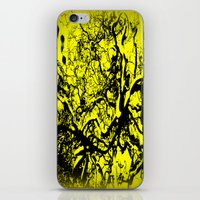 inner demons iPhone & iPod Skins featuring Demons  by Eve Penman