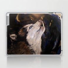 Howling Husky Laptop & iPad Skin
