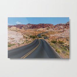 Valley of Fire - Nevada USA Metal Print