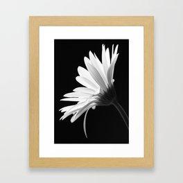 Flower BW Framed Art Print