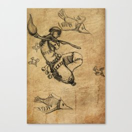 Malnourished Canvas Print