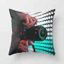 Focus On Bokeh Throw Pillow
