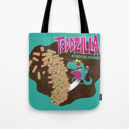 TODDZILLA –ATTACK ON JENGHAI! Tote Bag