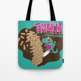 TODDZILLA – ATTACK ON JENGHAI! Tote Bag