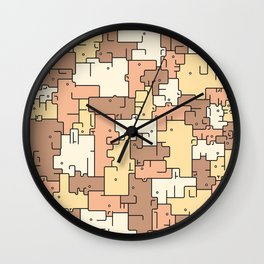 Escher Bati Wall Clock