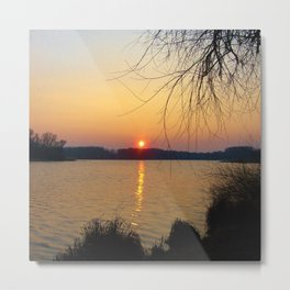 Sunset 1 Photography Metal Print