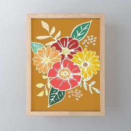 Flower Power #9 Framed Mini Art Print
