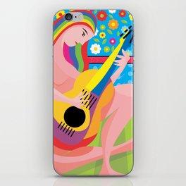 The-musician iPhone Skin
