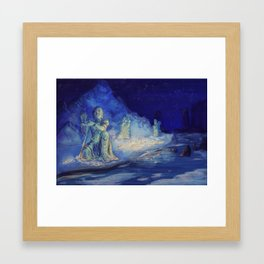 In the Shadow of Giants Framed Art Print