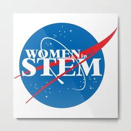 Women in STEM Metal Print