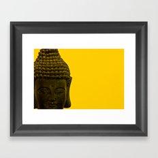 the buddha Framed Art Print