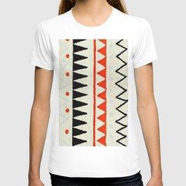 aztec mexican kilim pattern T-shirt