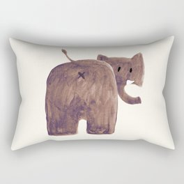 Elephant's butt Rectangular Pillow