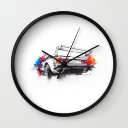 BMW M1 ProCar  Wall Clock