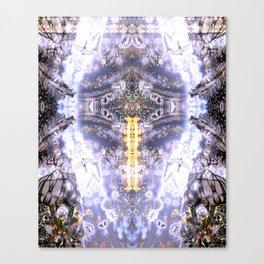 Purple Swallow Canvas Print
