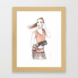 Silke Framed Art Print