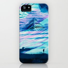 Pyramid Isolation iPhone Case