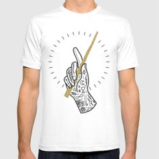 Enchant LARGE White Mens Fitted Tee