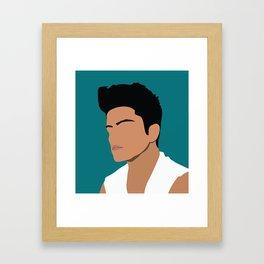 bruno Framed Art Print