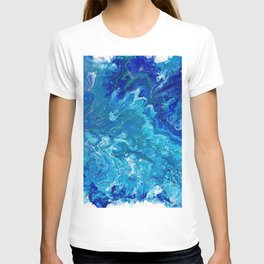 Dark Ocean Blue T-shirt